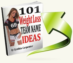 weight loss team names