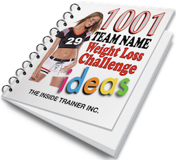 1001 weight loss team names