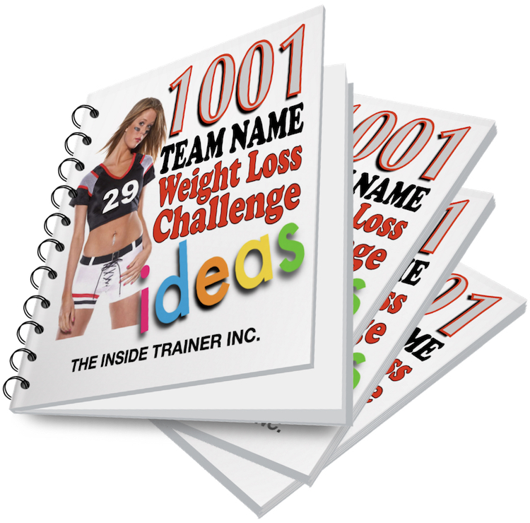 1001 weight loss challenge team names download