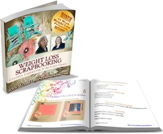 Weight Loss Scrapbooking book