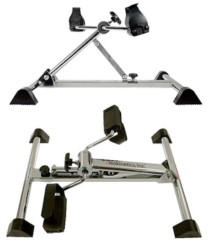 adjustable height pedal exerciser