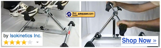 adjustable height under desk pedal exerciser