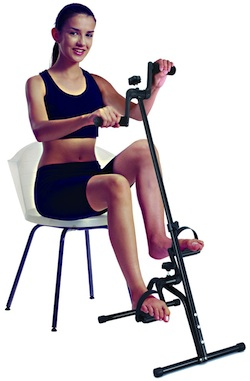 arm and foot seated pedal bike
