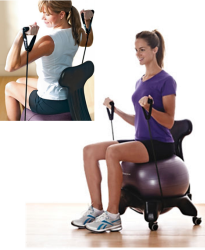 exercise ball desk chair - the inside trainer inc.