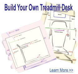 designing your own treadmill desk