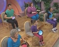 Chair Exercising for Mobility Impaired