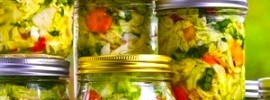 Fermented Vegetables for Health and Weight Loss