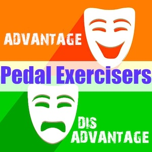 pedal exercisers pro con300