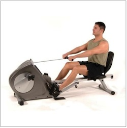 rowing machine for back fat