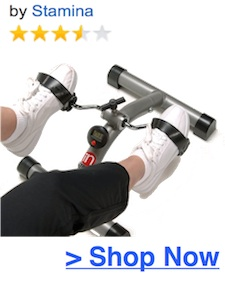 stamina pedal cycle with monitor