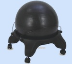 ball chair compare