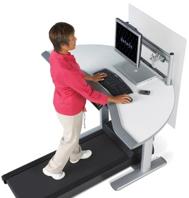 treadmill desk walkstation