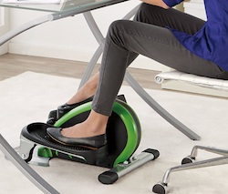 under desk elliptical machine