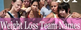 MORE Weight Loss Team Name Ideas